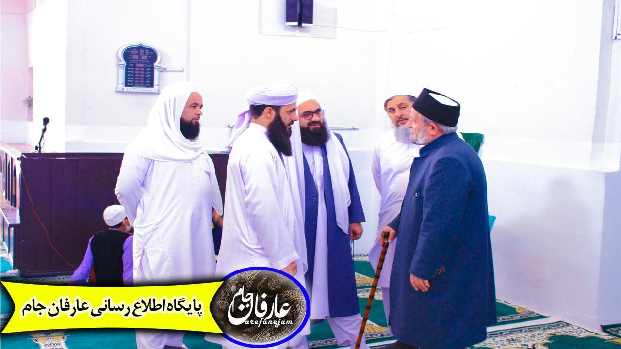 دیدار با شیخ محمد شافی قریشی